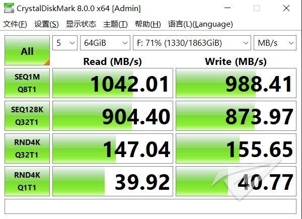 5GB读写测试