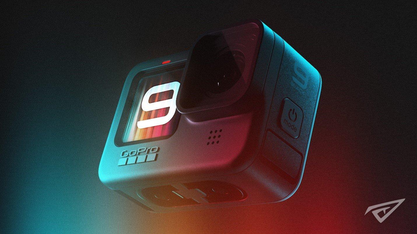 GoPro HERO9 Black升级 全新传感器支持5K视频