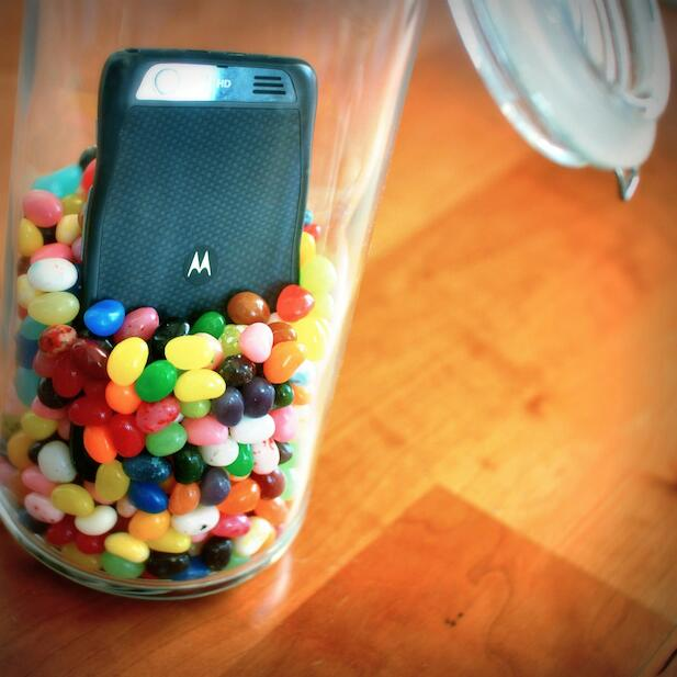 传摩托罗拉可升级 Jellybean 4.2 的机型