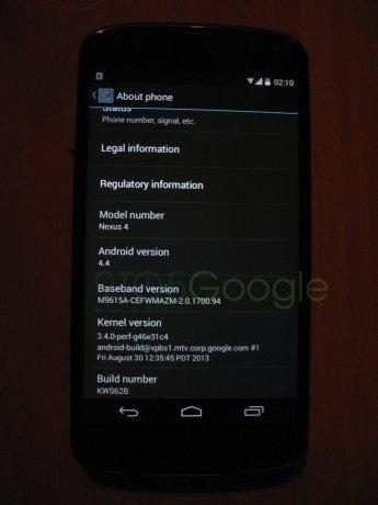 Android 4.4 Kitkat系统图标更新,电话与信息UI重新设计