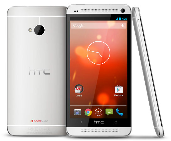 HTC One 原生 Android 版将于 6 月 26 日上市,单机价 599 美金