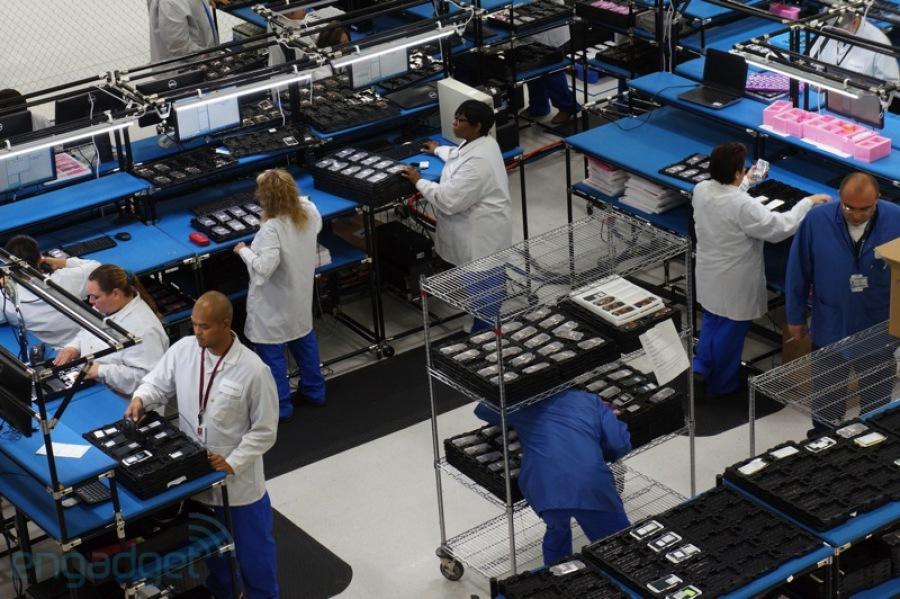 Moto X 定制版诞生的地方——美国德克萨斯州沃思堡的摩托罗拉工厂