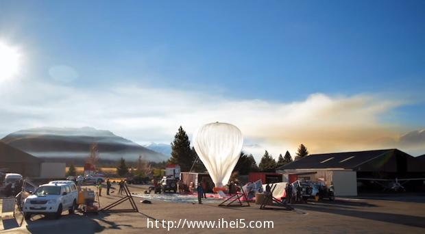 Google 已申请在美国加州的 Central Valley 测试 Project Loon 热气球网络计划