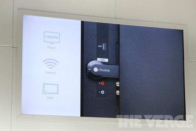 谷歌发布电视棒 Chromecast 中国用户无缘