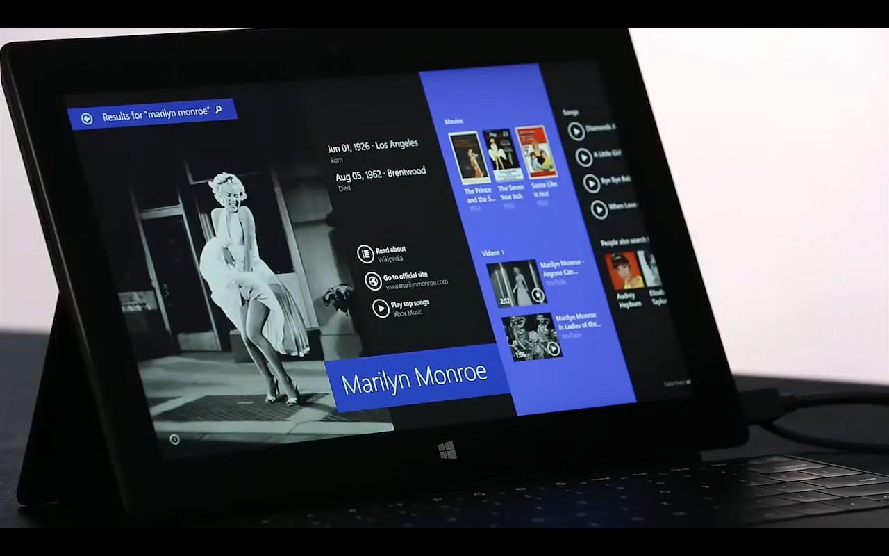 Microsoft 官方制作的 Windows 8.1 预览视频