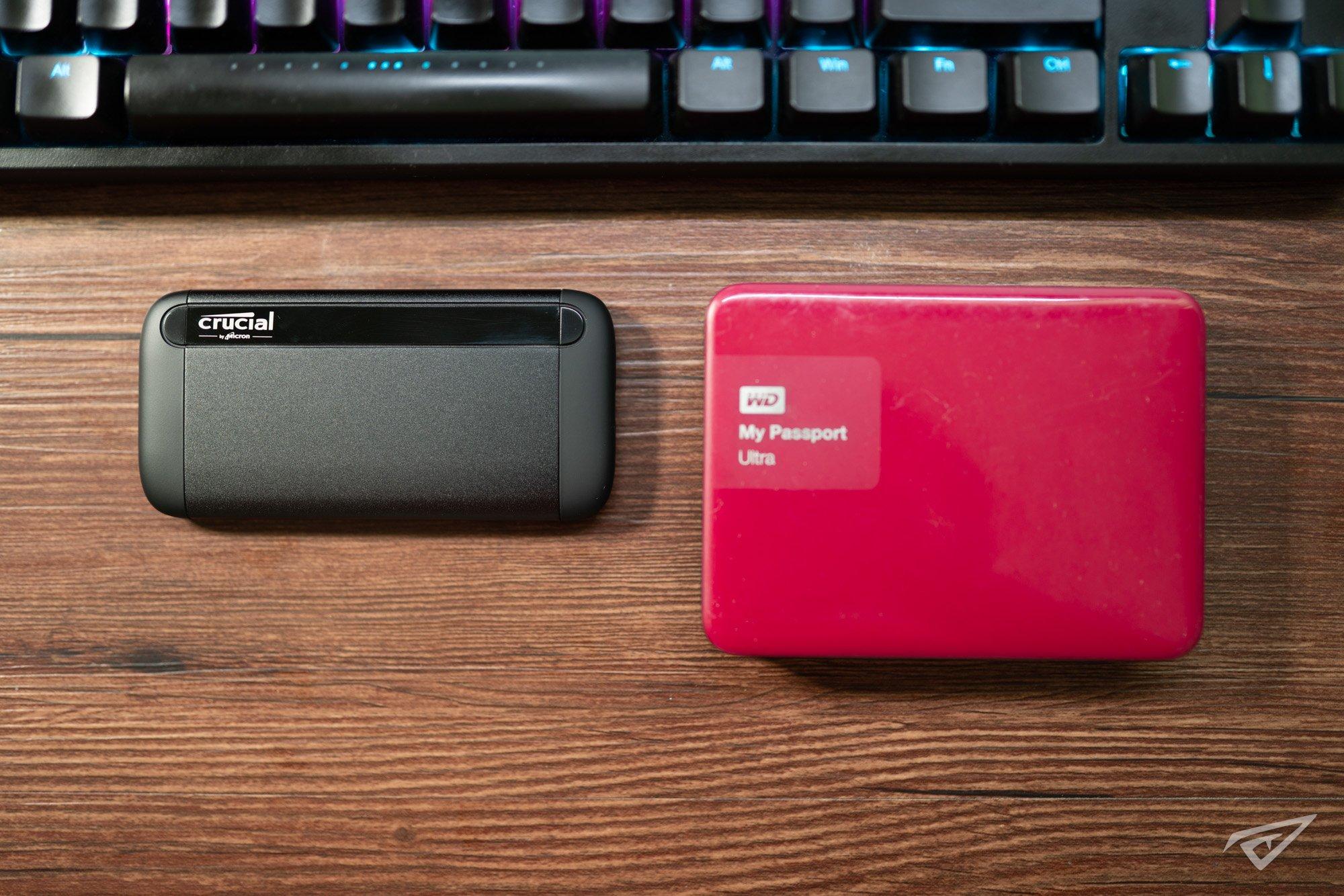 美光英睿达 Crucial X8 2TB移动SSD固态硬盘评测