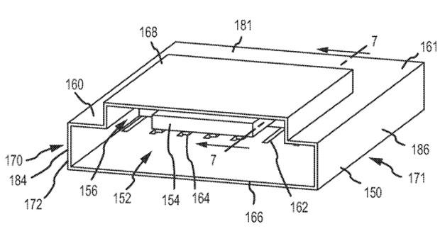 苹果Apple插口二合一的新专利