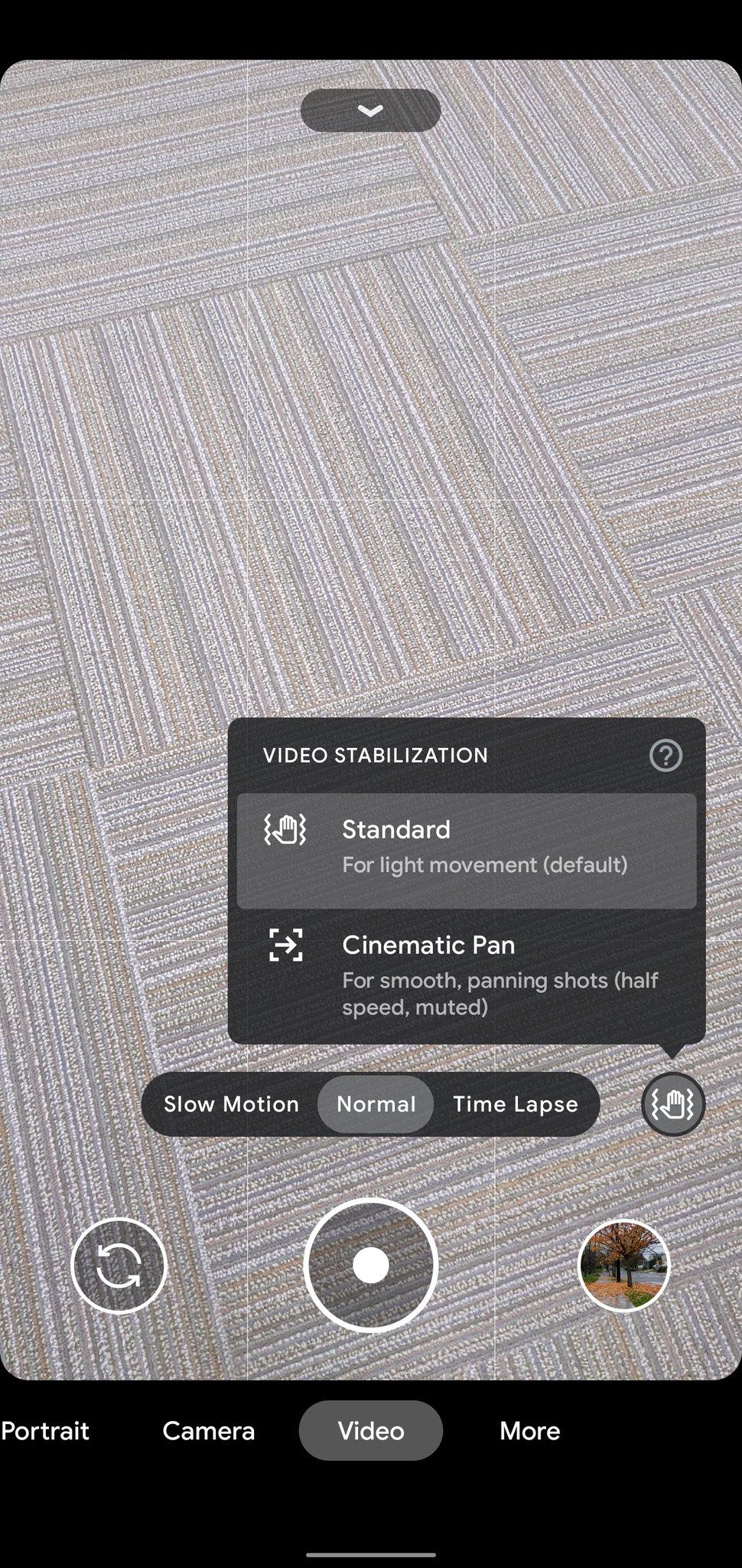 Google Pixel 4XL 上的 Google Camera 8.1