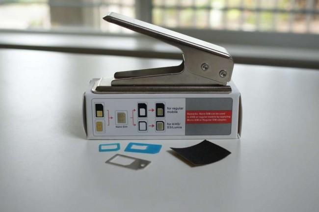 Moto X Nano SIM卡剪卡教程
