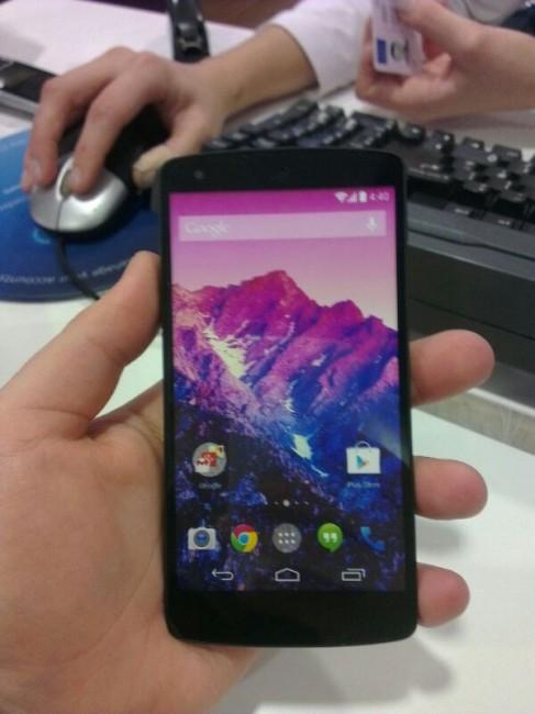 马来西亚LG服务中心泄漏Nexus 5开箱图组