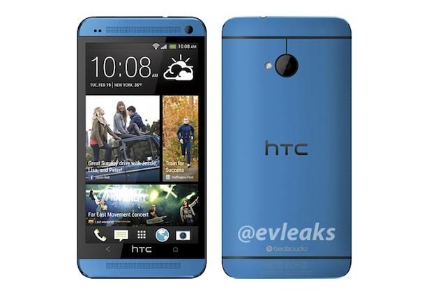 @evleaks 曝光 HTC One 蓝色版产品照