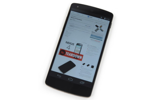 Google Nexus 5拆机图解:非常方便维修