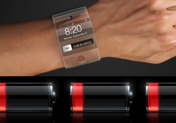 """苹果公司 Apple 获""""可弯曲电池""""专利 为可穿戴手表提供支持"""