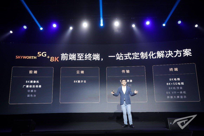 """创维推出""""5G+8K""""一站式解决方案,助力国家""""新基建""""战略计划"""