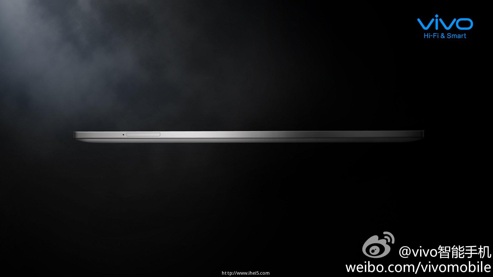 vivo Xplay 3S官方曝光侧面渲染图