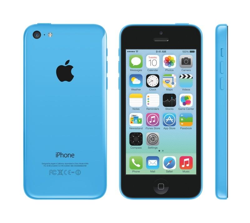 iPhone 5c将搭载4.0英寸Retina视网膜级别多点触控屏幕和五色一体式聚碳酸酯机身