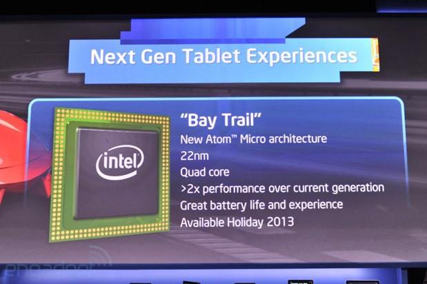 Intel 公布新一代 Atom 处理器,代号「Bay Trial」