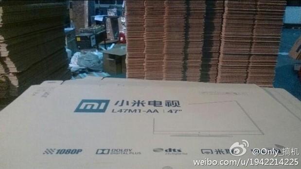 小米电视 47 英寸 外包装谍照泄漏?