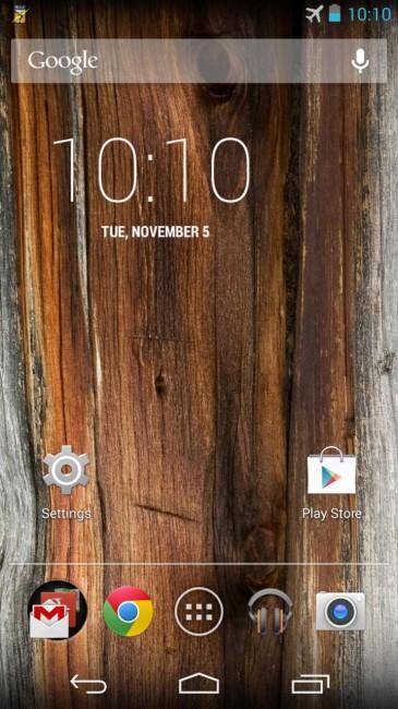 T-Mobile版Moto X Android 4.4 Kitkat系统截图泄漏