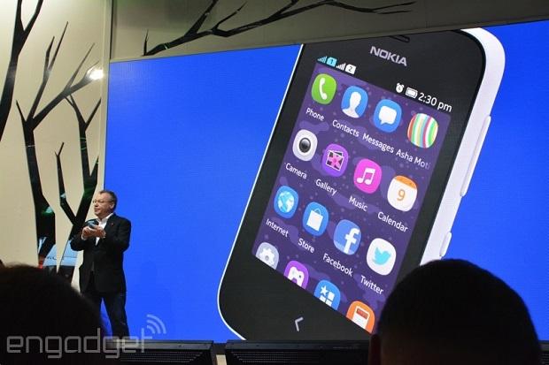 诺基亚推出其史上最便宜的触摸屏手机Nokia Asha 230