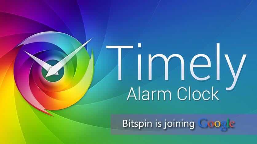 Timely开发团队Bitspin已正式加入Google公司