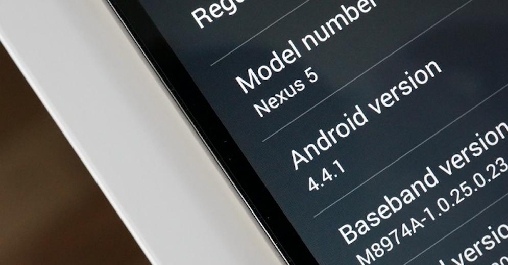 Nexus 5获得Android 4.4.1的小更新,修复相机问题