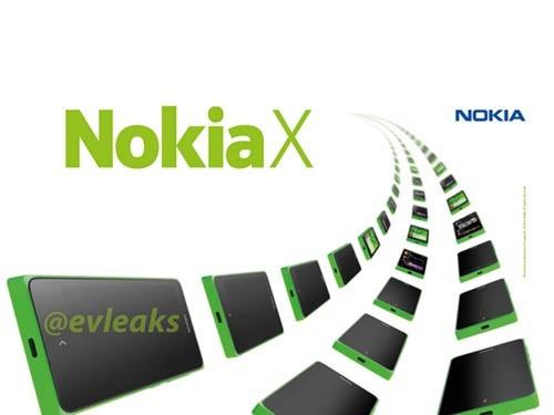 诺基亚新品安卓Nokia X媒体宣传照曝光