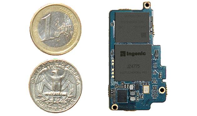 未来的Android Wear设备处理器芯片可能和硬币一样大