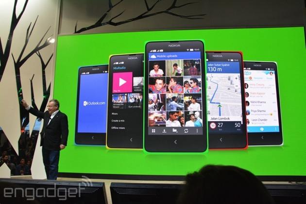 诺基亚最终摆脱不了使用Android的命运 Nokia X、X+、XL安卓智能手机正式发布