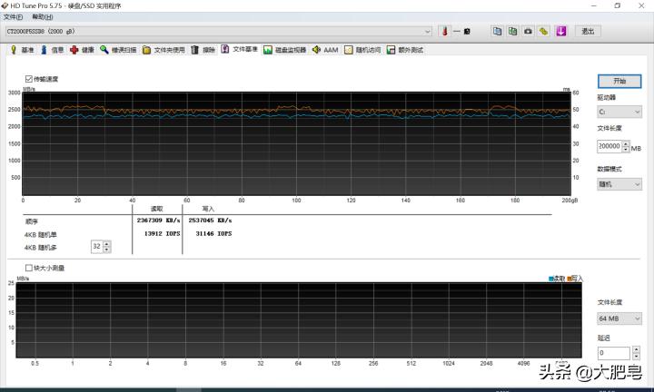 Crucial英睿达P5固态硬盘2T评测:系统盘下依然实力派