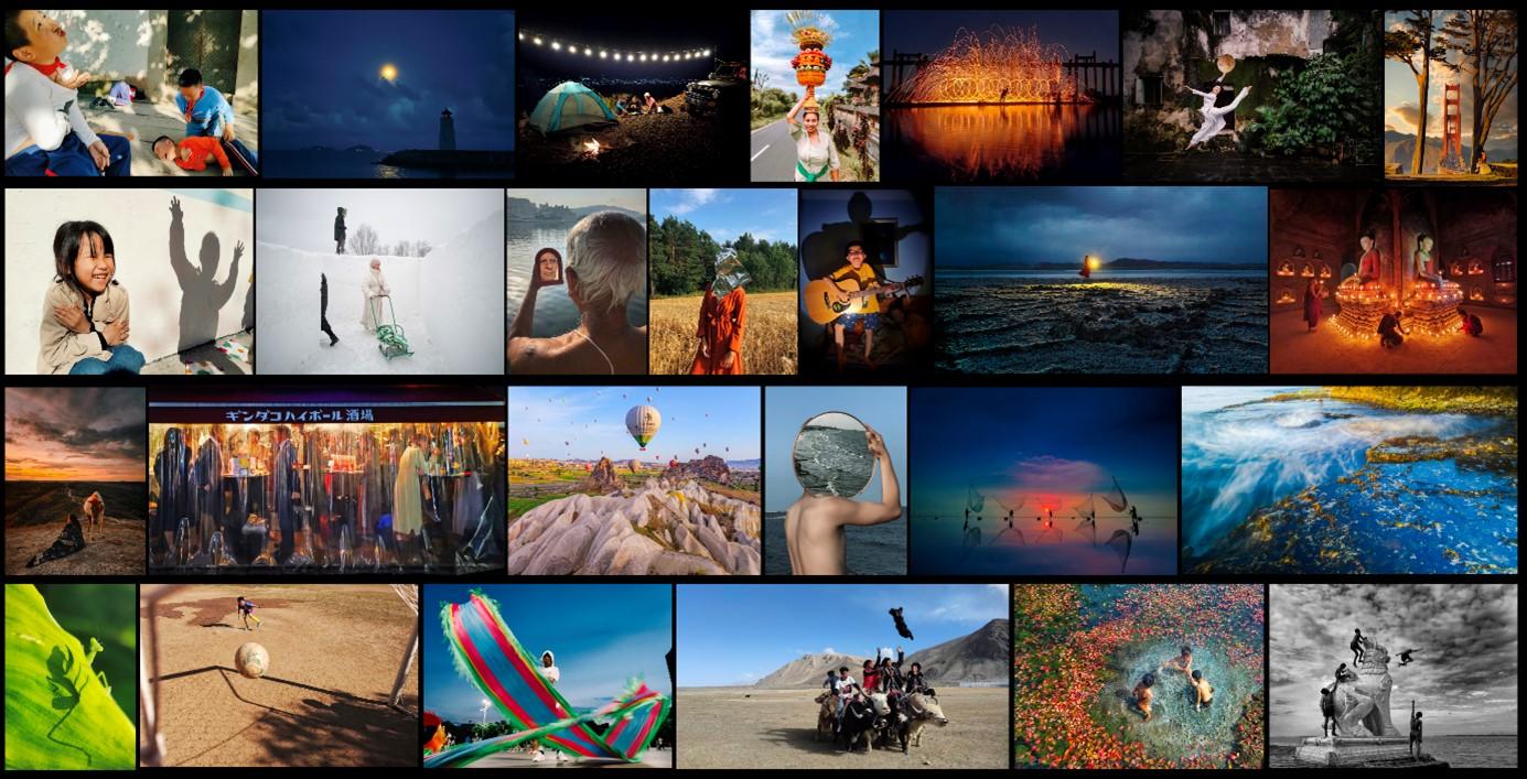 vivo影像+手机摄影大赛的征集作品