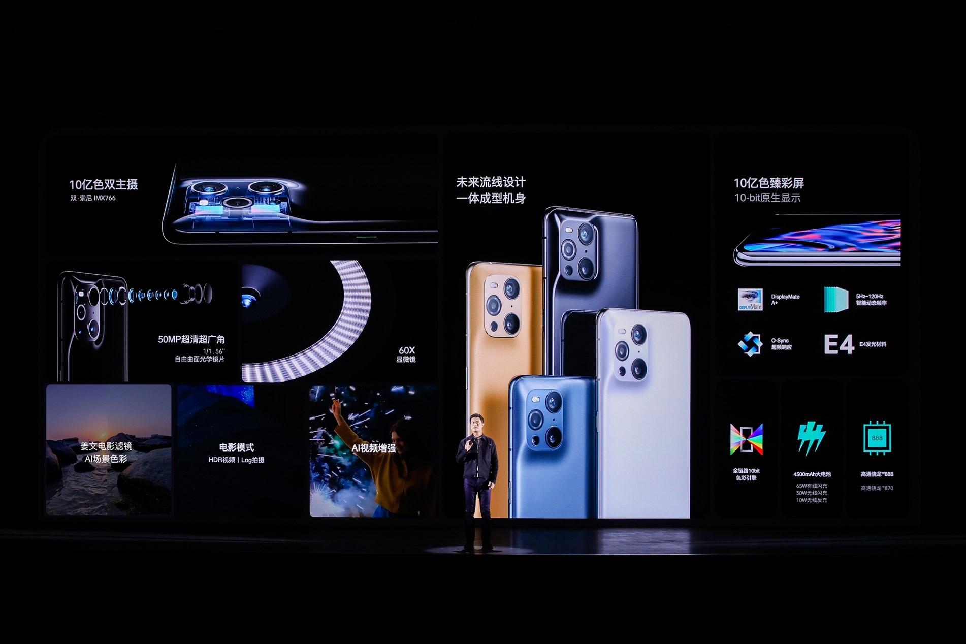 OPPO发布色彩影像旗舰Find X3系列