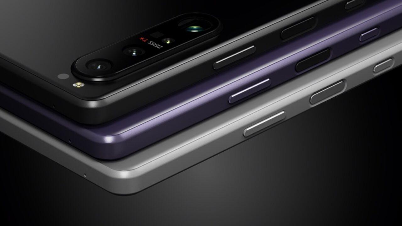 索尼Xperia 1 III夜烟黑、暮笙紫、纱月灰