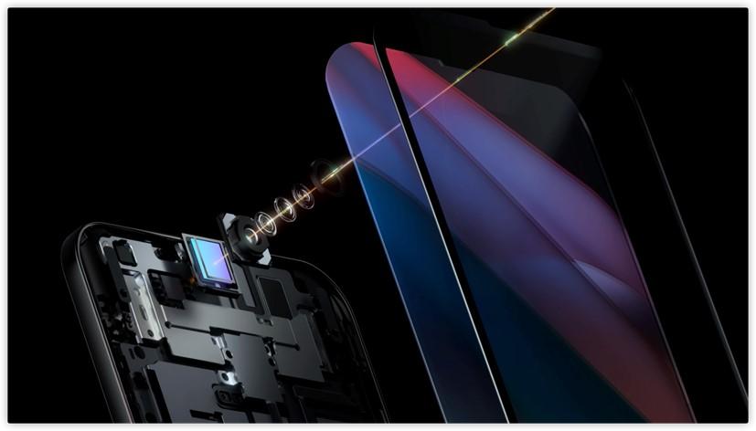 OPPO下一代屏下摄像头技术爆炸图