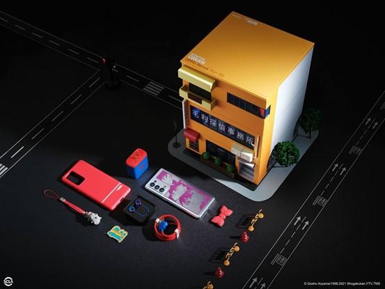 OPPO Reno6 Pro+名侦探柯南限定版包装盒