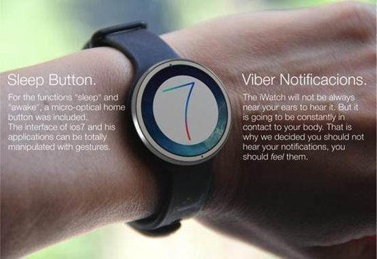 继MOTO360之后传出iWatch手表也将有圆形屏幕